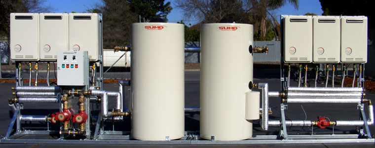 Sumo Commercial Hot Water Systems | Complete Enviro Solutions